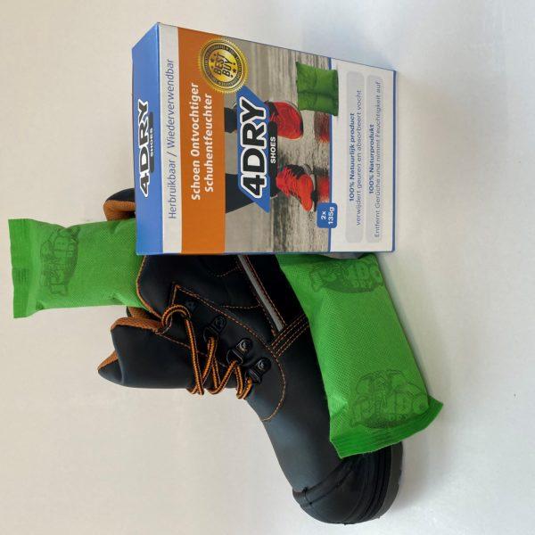 4Dry Shoes NL-DE 2pouches, shoe and box