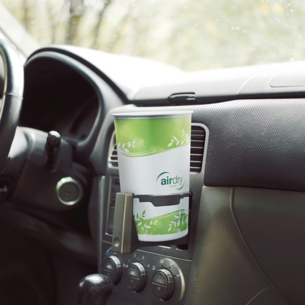 AirDry Cup green cupholder auto